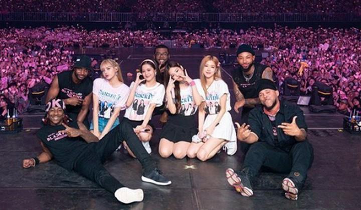 Sukses Menggelar Konser 2 Hari Di Indonesia, Member Black Pink Mengucapkan Terima Kasih Kepada Para Fans