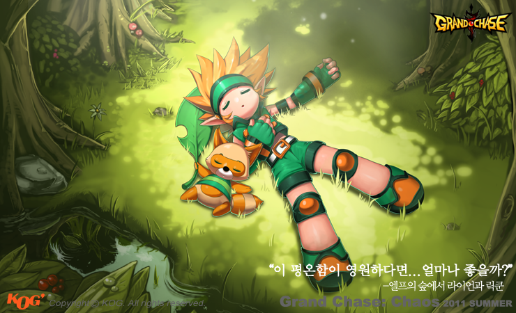 Grandchase Ryan : The Forest Guardian