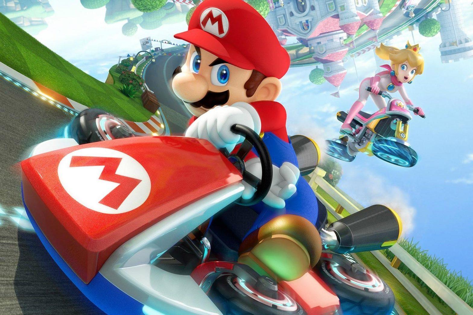 Mario Kart Punya Tampilan Menarik Di Switch