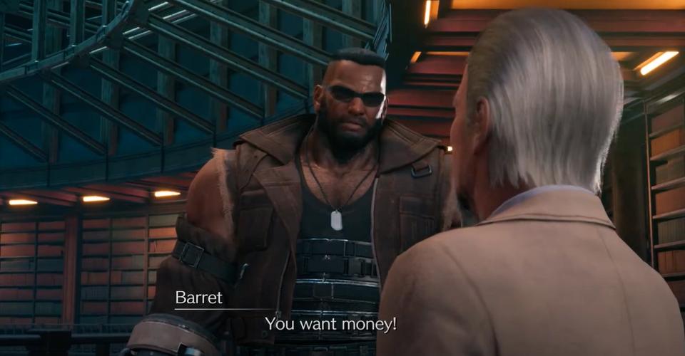 Apakah Kamu Harus Memberikan 10,000 Gil Kepada Hart Di Final Fantasy 7 Remake